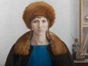 Lady in Fur Hat