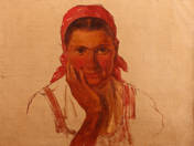 Woman with a Red Kerchief