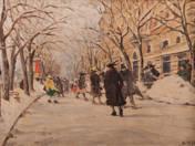 Street in Wintertime