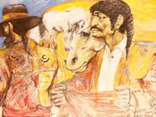 Federico Garcia Lorca series - Bullfighter