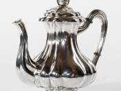 Silver Coffee Pot from Pest