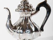 Silver Coffee Pot from Prague