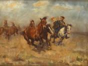 Stampeding Horses
