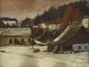 Farm in Wintertime