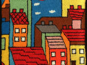 Houses Tapestry