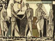 Study of Miskolc's tapestry