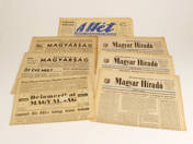 Hungarian Newspapers from Foreign Countries (7pcs)