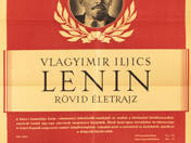 Short Biography of V. I. Lenin poster
