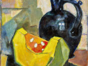 Still Life with Melon and Jug