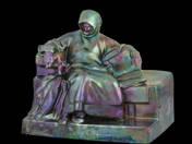 Zsolnay Anonymus Sculpture