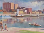 Bathers at Tisza