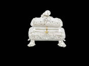 Viennese Antique Silver Sugarbox
