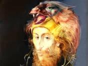Man with birdhat