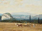 Landscsape of Csesznek (1959)