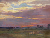 Landscape in Twilight