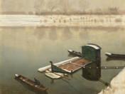 Boats on Tisza