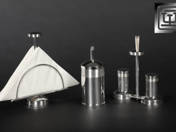Silver table set