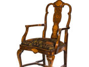 6 piece Dutch Baroque sofa set (around 1880)