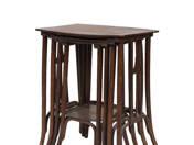 Thonet tables (4 pcs)