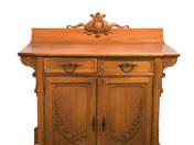 Ödön Faragó: Art Nouveau dining room set (11 pcs)