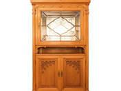 Art Nouveau dining room set (11 pcs)
