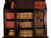 Ede Toroczkai Wigand: 11 Piece Hungarian Art Nouveau study room set