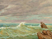 Rippling sea