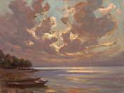 Balaton at dawn