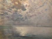 Night sailing on Lake Balaton