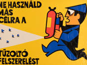 Do not use firefighting equipment for any other purpose. - poster