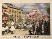 Jenő Szervánszky:  Parade on May 1st