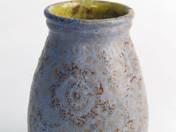 Vase with flowers decor