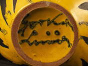 Lívia Gorka: Pot with tiger decor