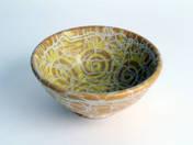 Bowl with Sun decor