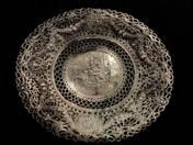 German silver rococo style bowl