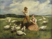 Goose shepherds