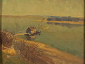 March (Fishing hut on the water)