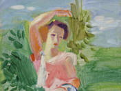 Young Girl in a Landscape (1933)