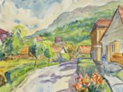 Mountainous Street