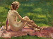 Nude in the Green