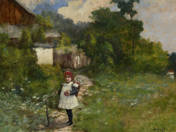 Little Girl at the End of the Village