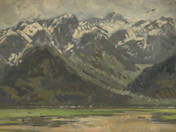 Landscape with the High-Tatras