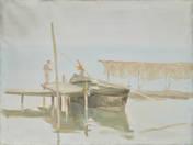 Fishermen by Sunset