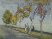 Autumn by Lake Balaton