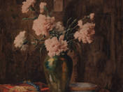 Still Life with Dianthus
