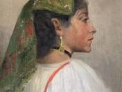 Italian Girl with Earring