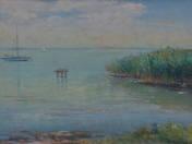 Dock on Lake Balaton