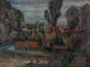 Village Yard in Summer